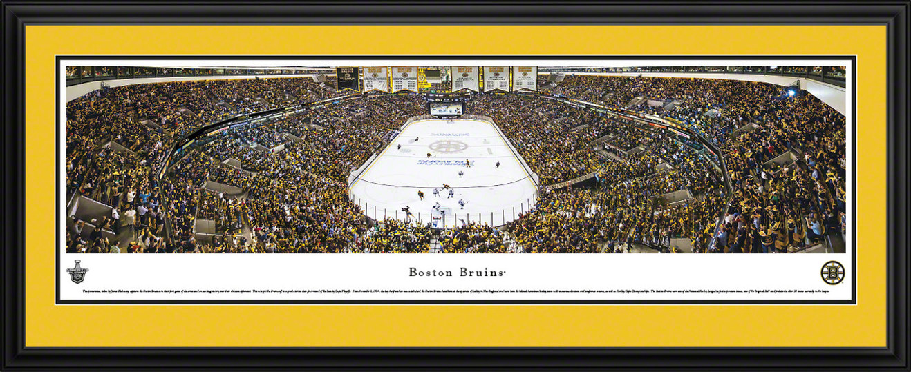 Boston Bruins Panoramic - TD Banknorth Garden Picture - Playoffs