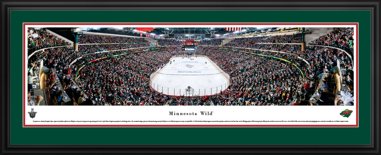 Minnesota Wild Panorama - Xcel Energy Center Pictures