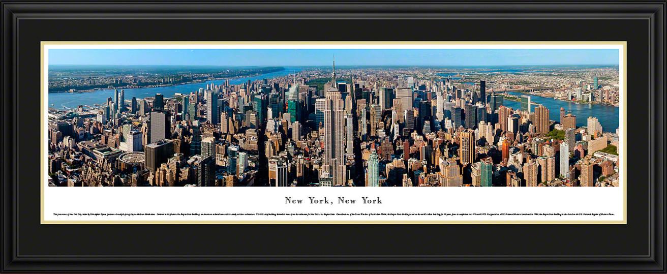 New York City Skyline Panorama - Midtown Manhattan