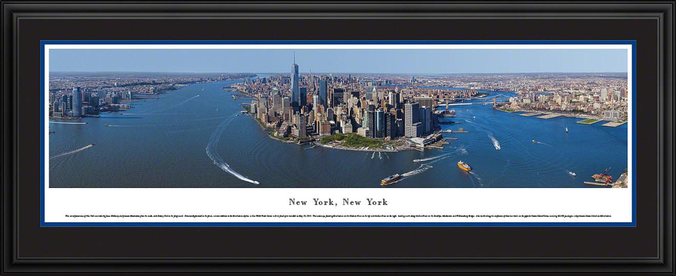 New York City Skyline Panorama - Manhattan