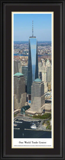 One World Trade Center Panoramic Picture - Vertical Panorama