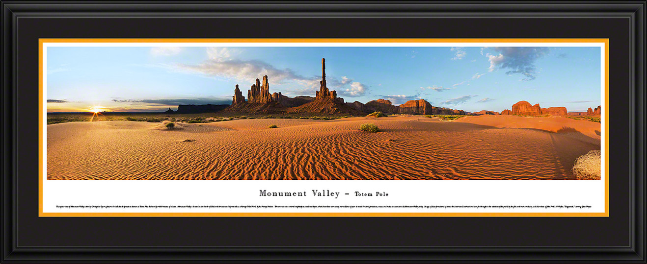 Monument Valley Panoramic - Totem Pole
