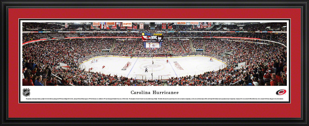 Carolina Hurricanes Panoramic - PNC Arena Picture