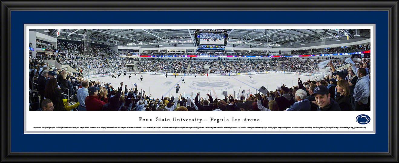 Penn State Nittany Lions Hockey Panoramic- Pegula Ice Arena