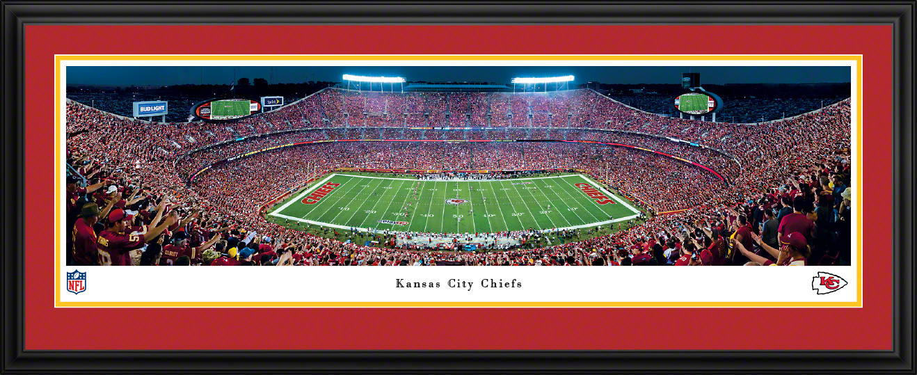 Kansas City Chiefs Panoramic Picture - Arrowhead Stadium