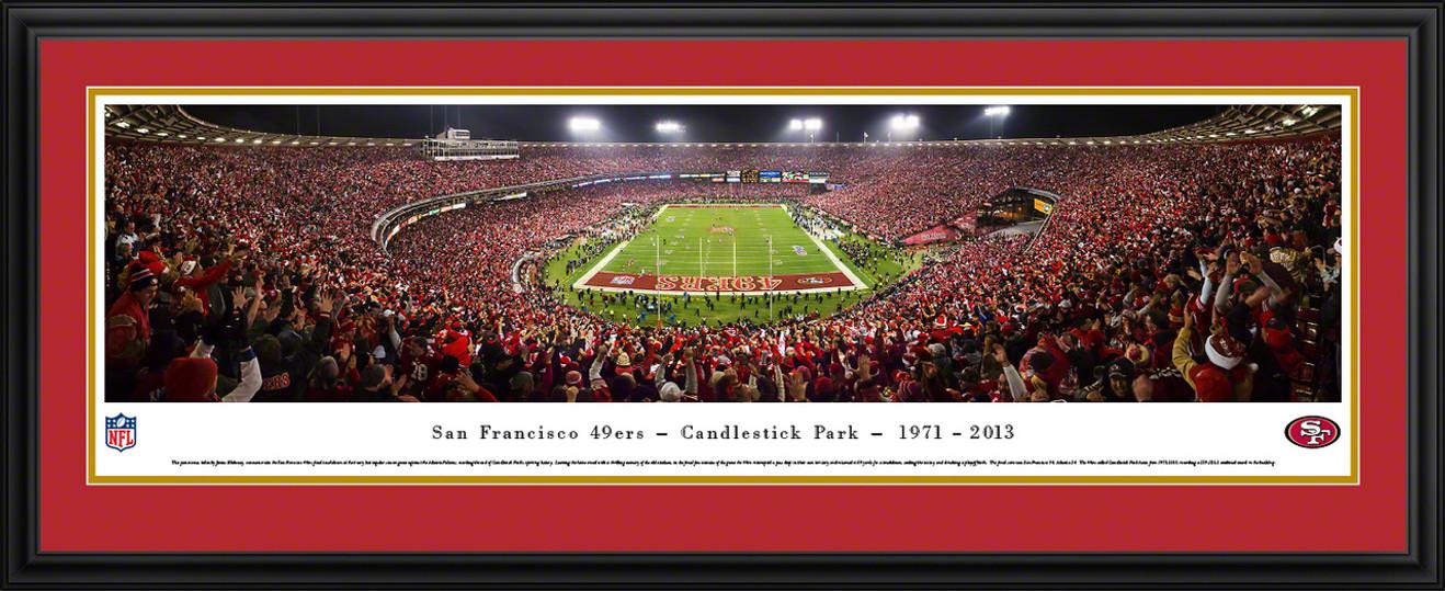 San Francisco 49ers Panoramic - Candlestick Park Panoramic