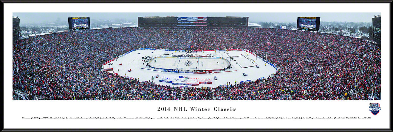 2014 Winter Classic Panoramic - Toronto Maple Leafs vs. Detroit Red Wings
