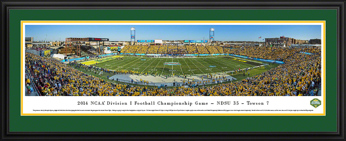 2014 NCAA FCS Football Championship Panoramic Picture - NDSU Bison