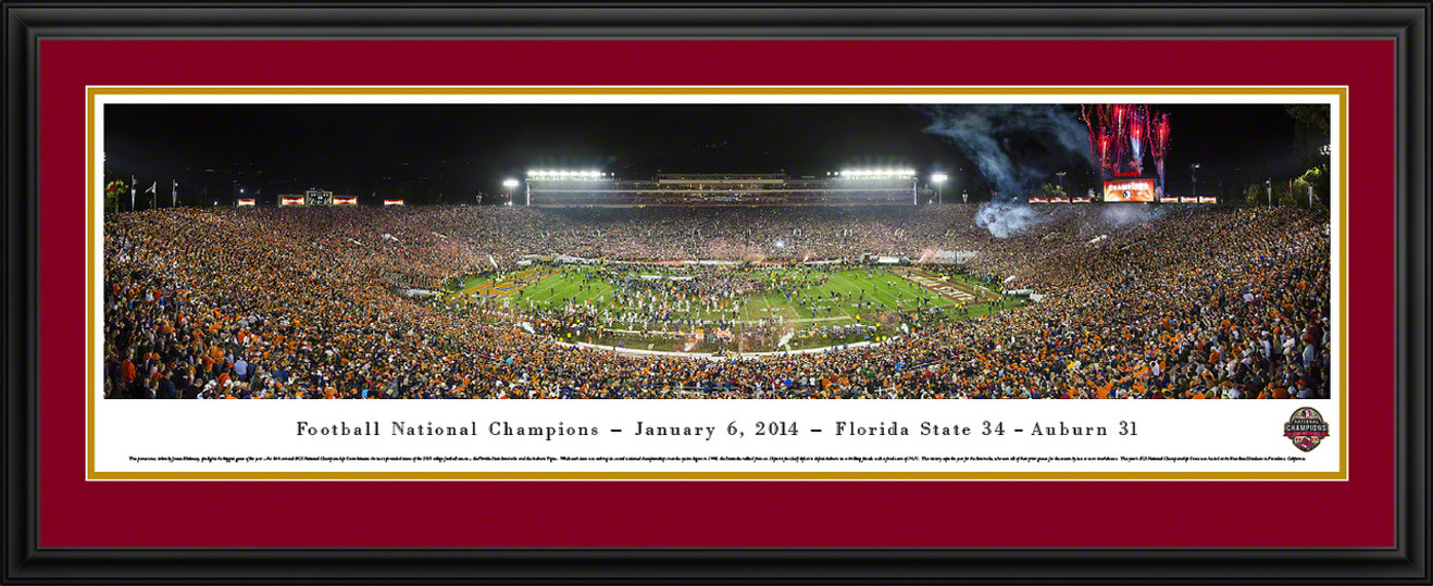 2014 BCS Football Championship Panoramic - Florida State Seminoles