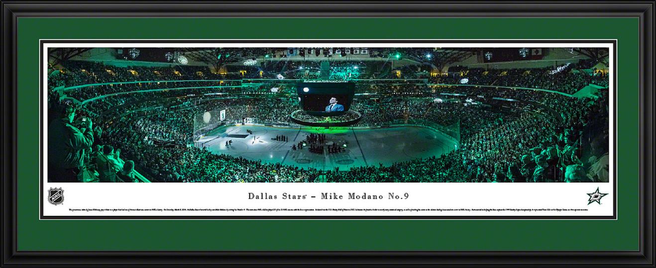 Dallas Stars Panoramic - Mike Modano Picture