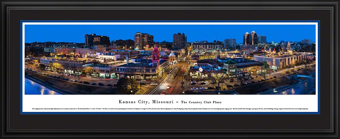 Kansas City, Missouri Panoramic Picture - The Plaza