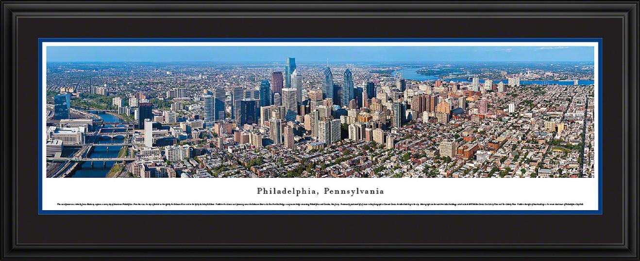 Philadelphia, Pennsylvania Skyline Panorama