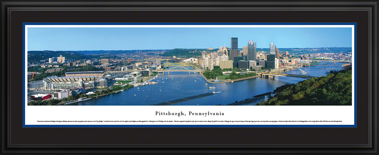 Pittsburgh, Pennsylvania Skyline Panoramic Picture