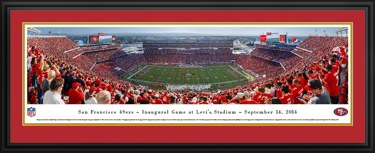 San Francisco 49ers Panoramic - Levi's Stadium Picture