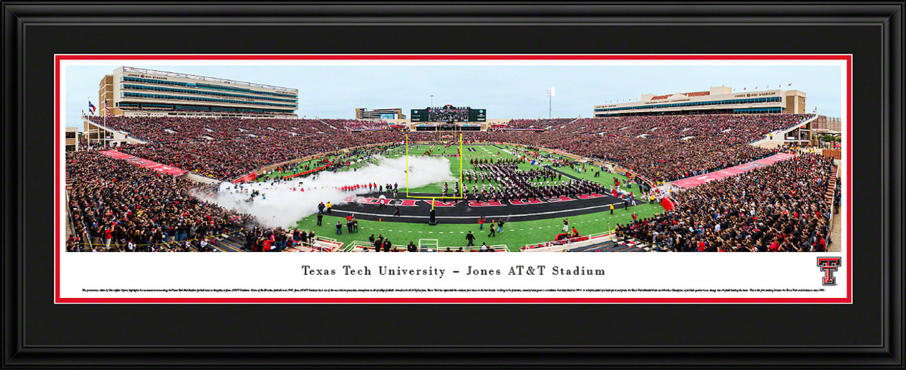 Texas Tech Red Raiders Panoramic Picture - Jones AT&T Stadium