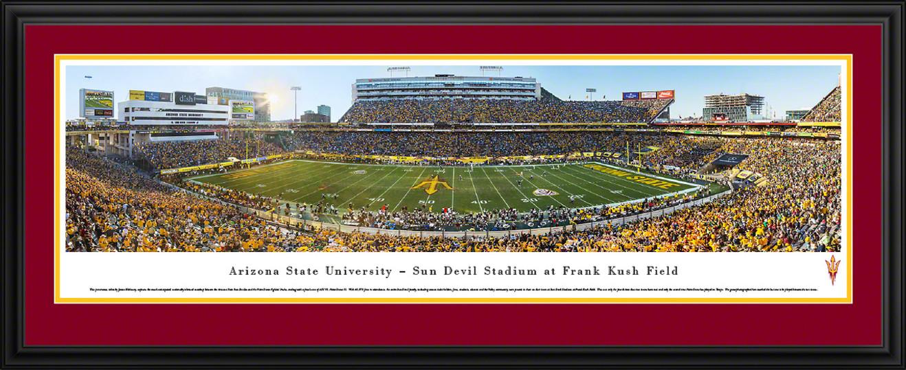 Arizona State Sun Devils Panoramic Picture - Sun Devil Stadium