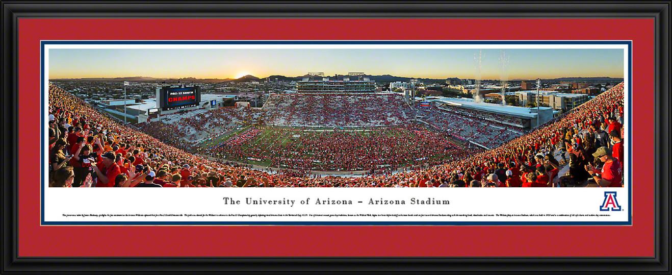 Arizona Wildcats Panoramic Picture - Arizona Stadium