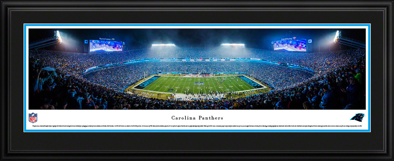 Carolina Panthers Panoramic Picture - Bank of America Stadium