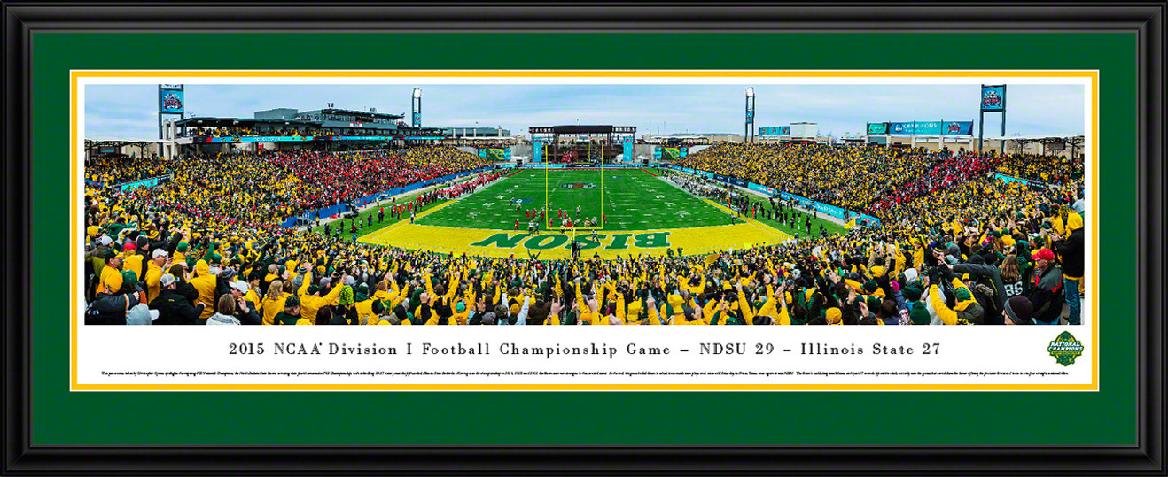 2015 NCAA FCS Football Championship Panoramic Picture - NDSU Bison