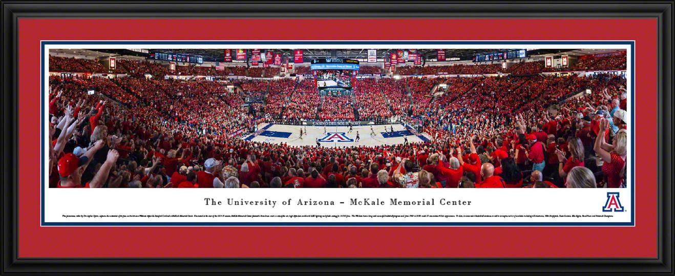 Arizona Wildcats Panoramic Picture - McKale Stadium