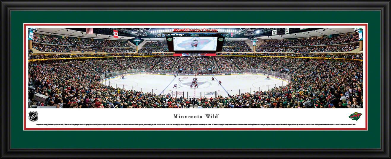 Minnesota Wild Panoramic Picture - Xcel Energy Center