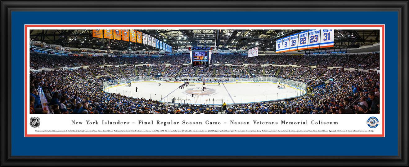New York Islanders Panorama - Nassau Coliseum Picture