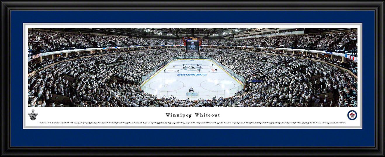 Winnipeg Jets Whiteout Panoramic