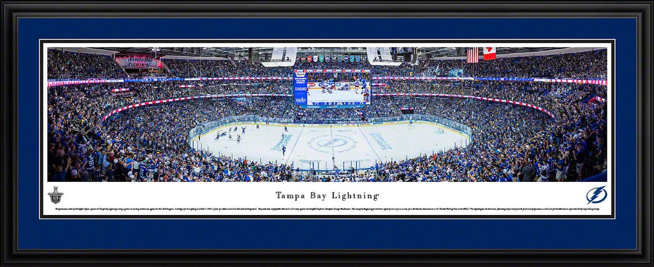 Tampa Bay Lightning Panoramic Picture - Amalie Arena Panorama