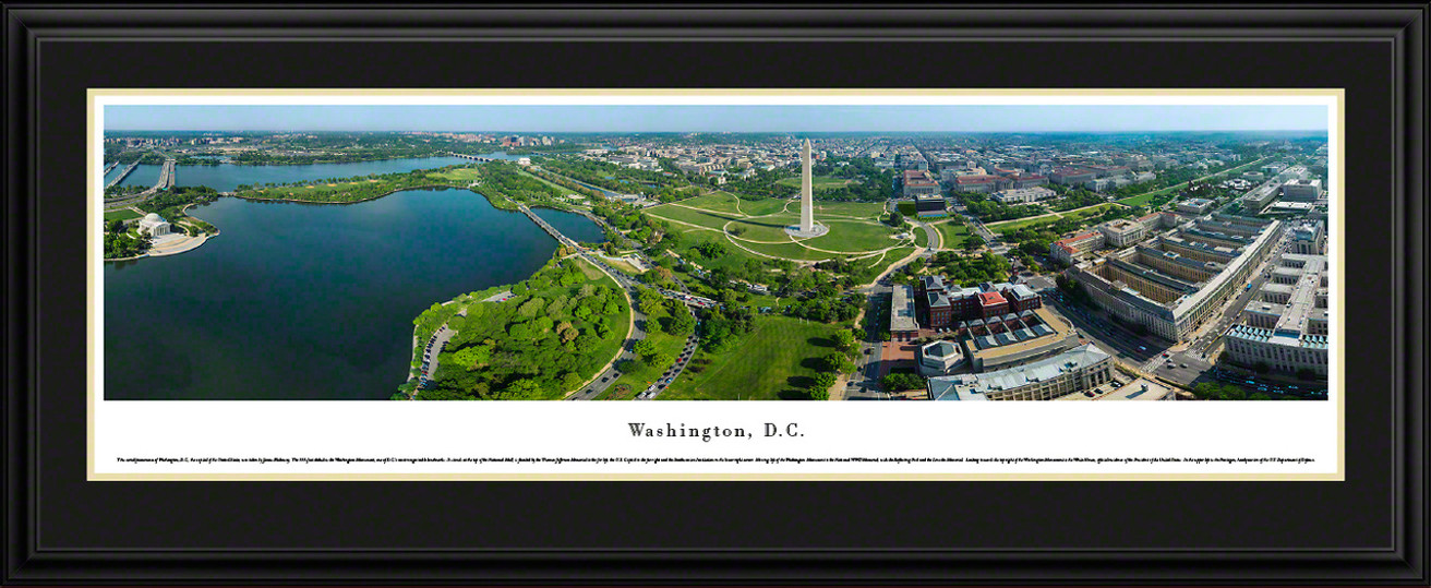 Washington, DC Panoramic Skyline Picture