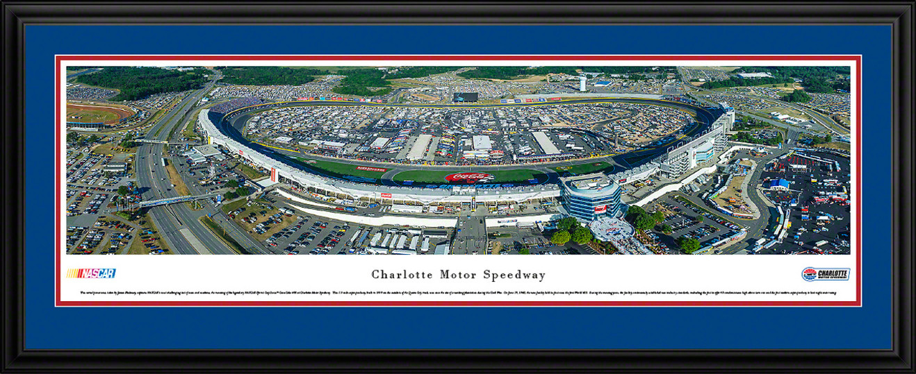 Charlotte Motor Speedway Panoramic Picture