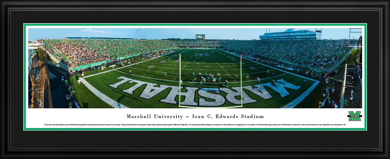 Marshall Thundering Herd Football Panoramic - Joan C. Edwards Stadium Picture
