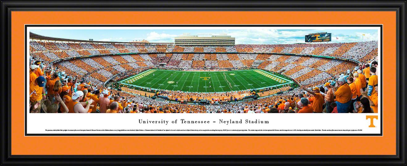 Tennessee Volunteers Panoramic Picture - Neyland Stadium Football Panorama