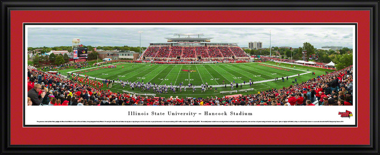 Illinois State Redbirds Panoramic - Hancock Stadium Picture