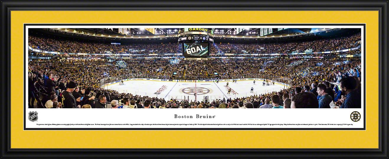 Boston Bruins Panoramic Picture - TD Garden Panorama