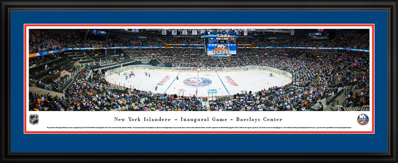 New York Islanders Panoramic Picture - Barclays Center Panorama