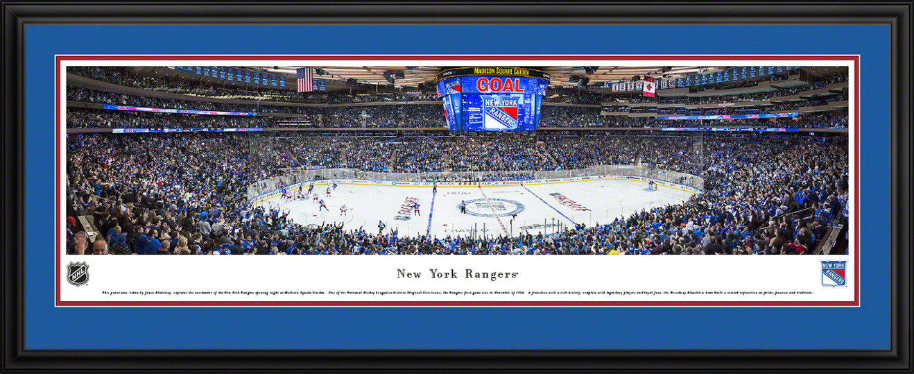 New York Rangers Panoramic Picture - Madison Square Garden Panorama
