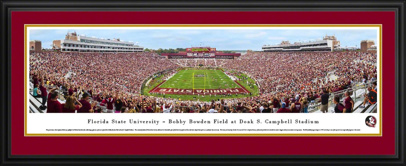 Florida State Seminoles Panoramic Picture - Doak Campbell Stadium