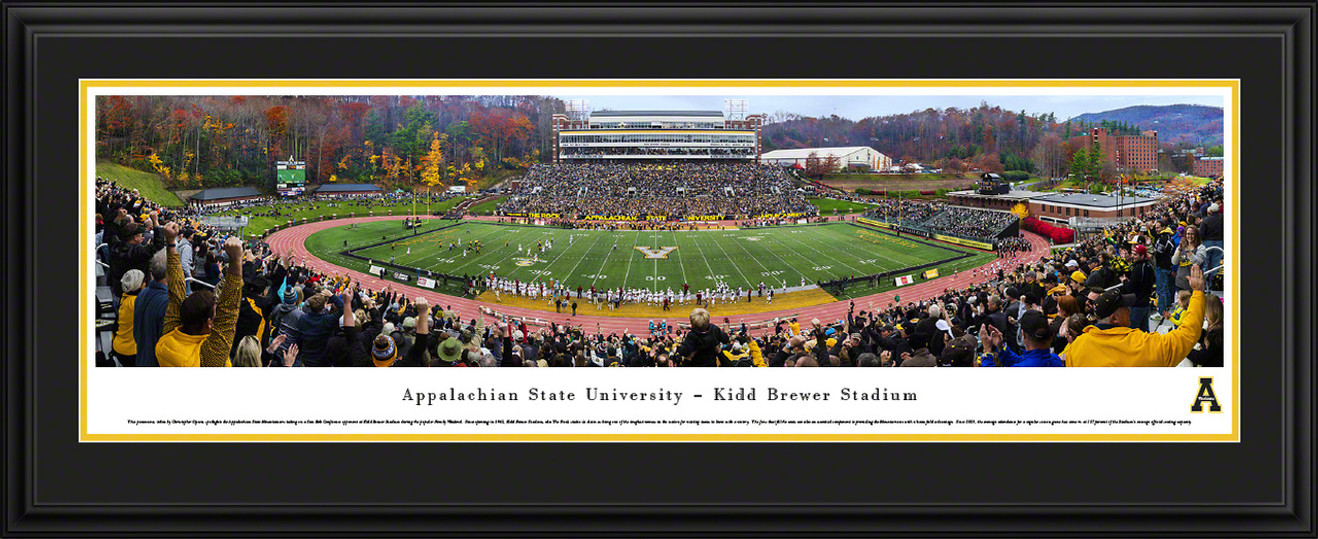 Appalachian State Mountaineers Panoramic Picture - Kidd Brewer Stadium Panorama