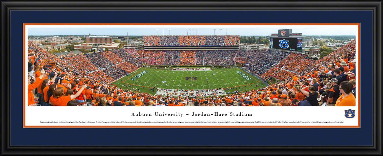 Auburn Tigers Football Panoramic Picture - Jordan-Hare Stadium Panorama