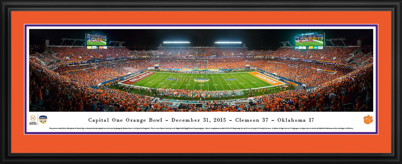 2015 Orange Bowl Panorama - Sun Life Stadium - Clemson Tigers