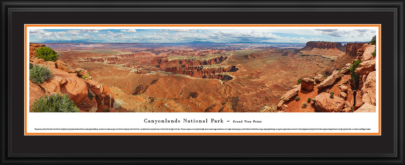 Canyonlands National Park Panoramic Picture - Grand View Point Overlook