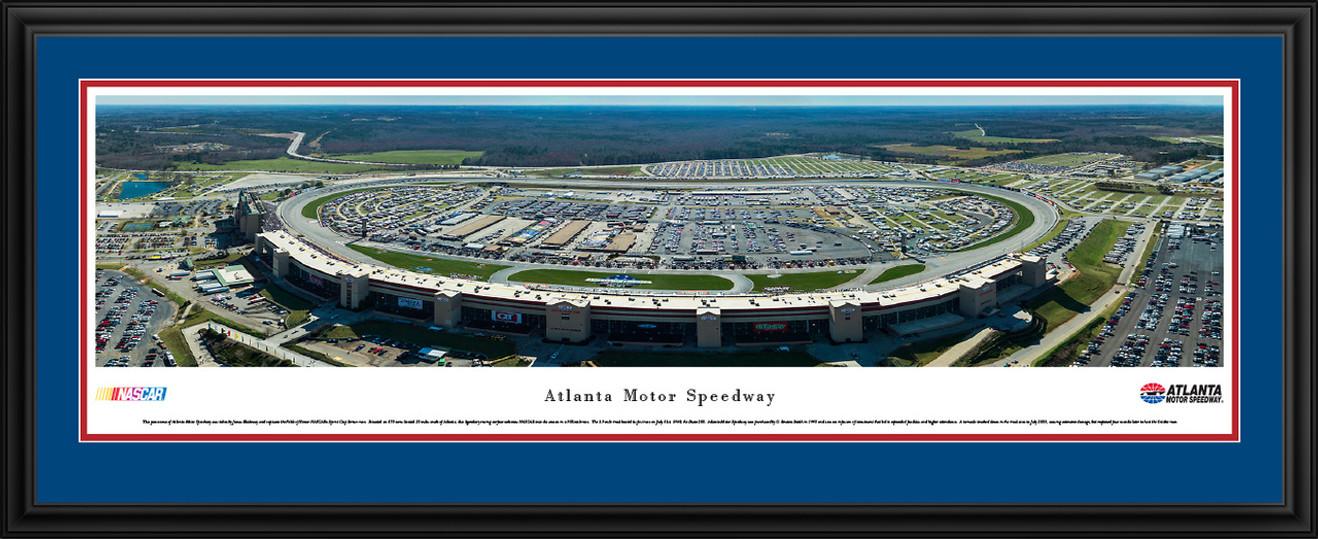 Atlanta Motor Speedway Aerial Panoramic Picture