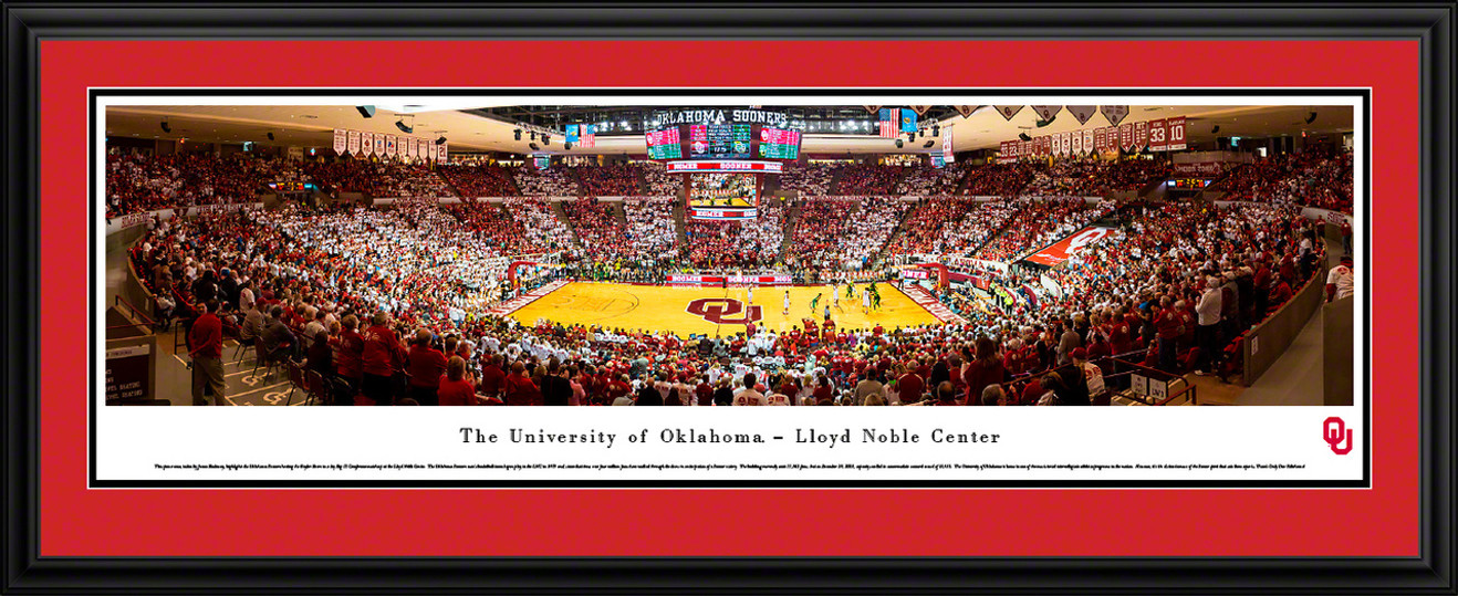 Oklahoma Sooners Basketball Panorama - Lloyd Noble Center Panoramic Picture