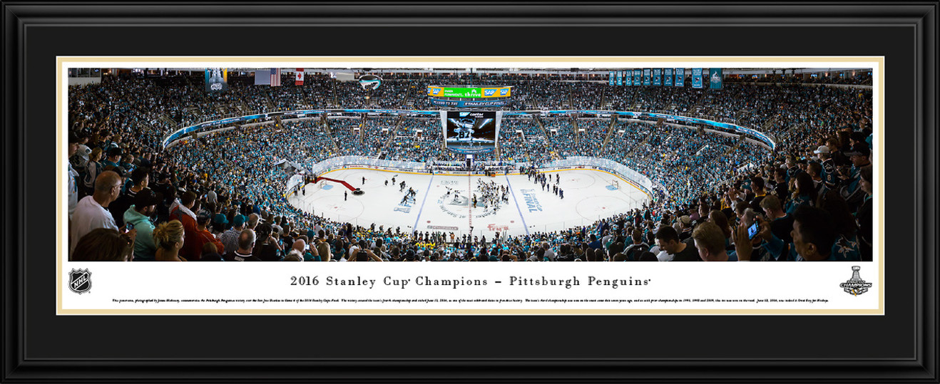 2016 Stanley Cup Panoramic Picture - Pittsburgh Penguins