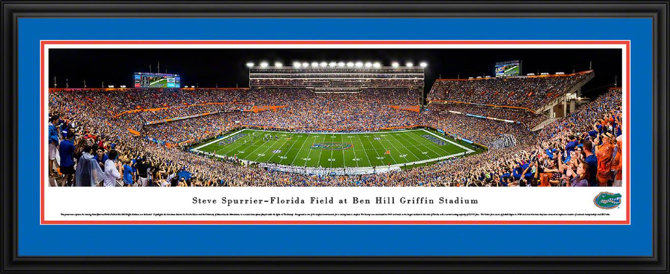 Florida Gators Football Panorama - Steve Spurrier-Florida Field at Ben Hill Griffin Stadium Panoramic Picture