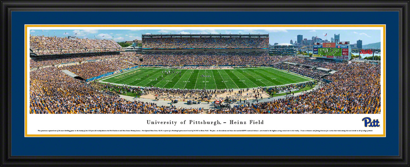 Pittsburgh Panthers Football Panoramic Picture - Heinz Field