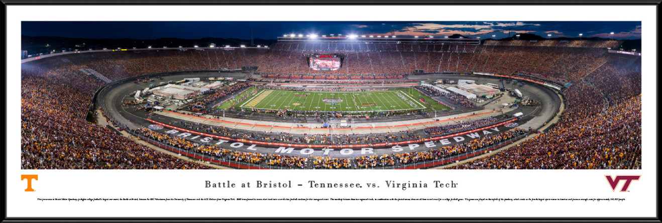 2016 Battle at Bristol Panoramic Picture - Tennessee Volunteers vs. Virginia Tech Hokies