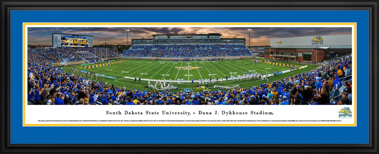 South Dakota State Jackrabbits Panoramic Picture - Dana J. Dykhouse Stadium