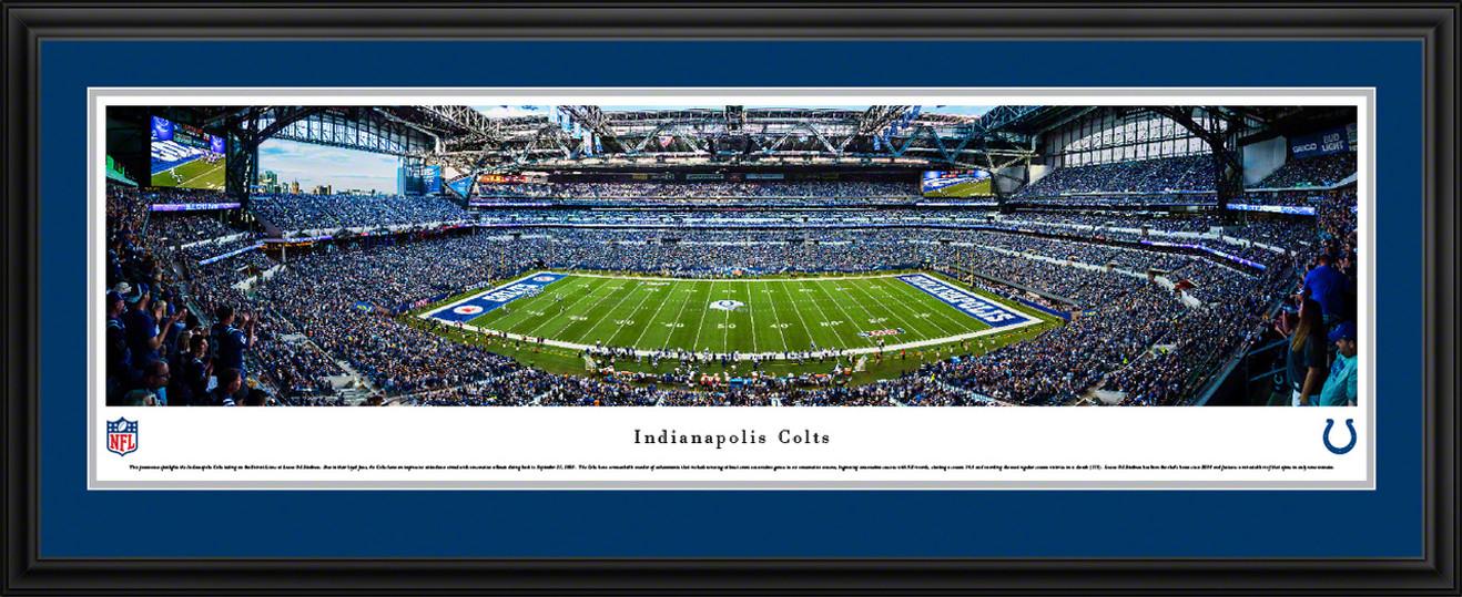 Indianapolis Colts Panoramic Picture - Lucas Oil Stadium Panorama
