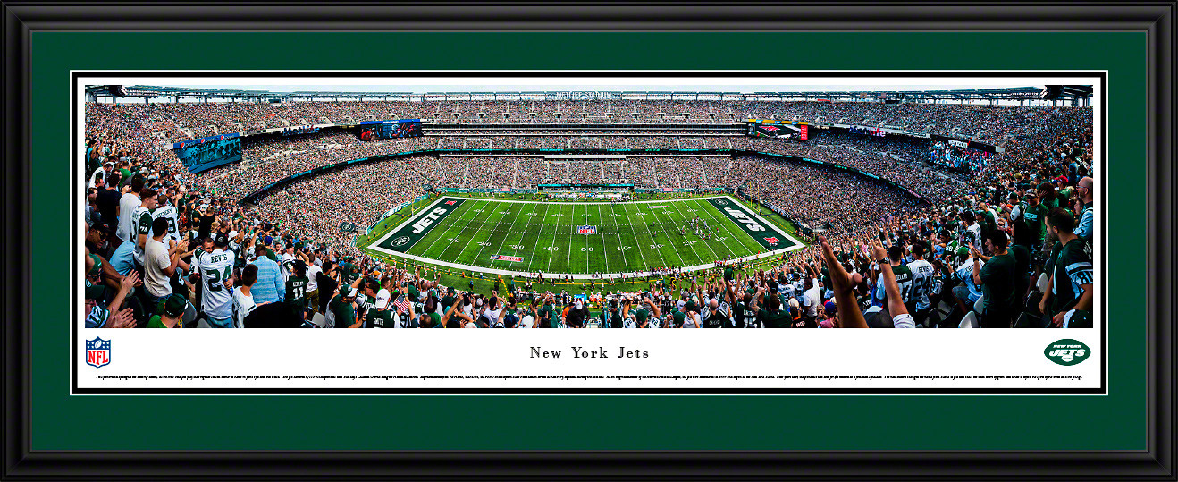 New York Jets Panoramic Picture - MetLife Stadium Panorama